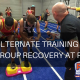 Alternate training and group recovery iMovie frame alternate training