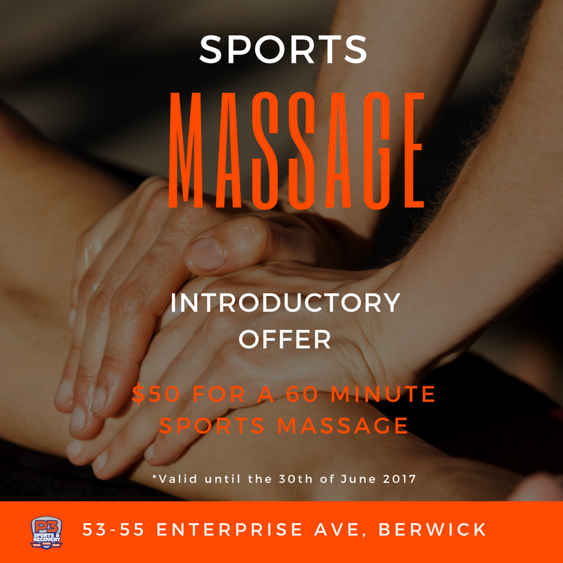 Sports Massage Introductory Offer P3